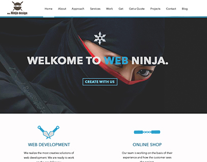 "Web-Site for ""Your Web Ninja"""