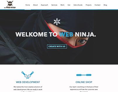 """Web-Site for """"Your Web Ninja"""""""