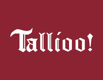 Presentazione Insegne Tallioo!