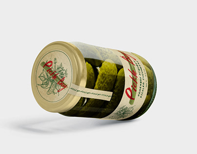Pickle Boy Label Design