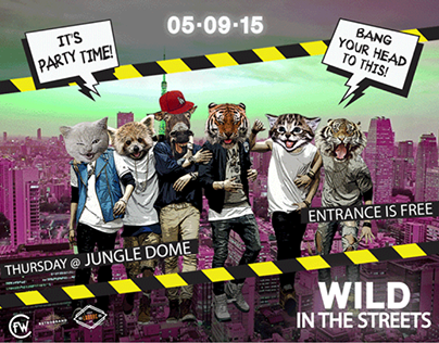 WILD IN THE STREETS (GIF ANIMATION)