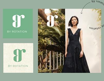 By Rotation   Logo Design, Branding