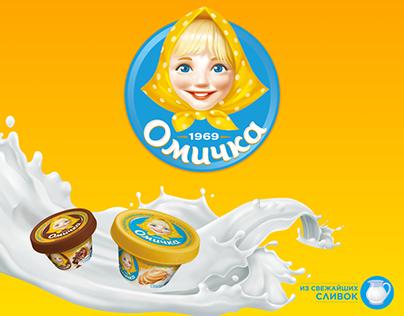 Сыр «Омичка», промо-сайт продукта