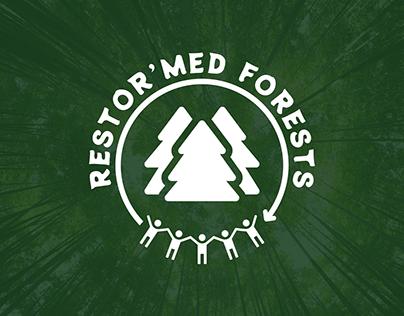 RESTOR'MED FOREST Logo