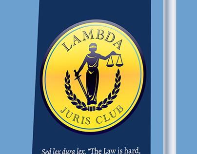 Branding for Lambda Juris Club