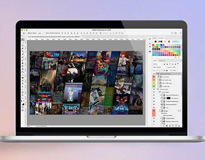 Custom Adobe & Disney