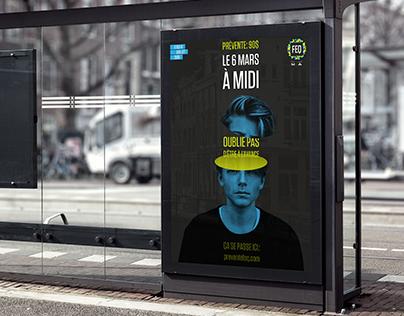 Publicité promotionnelle FEQ