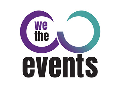We the events - Logo design
