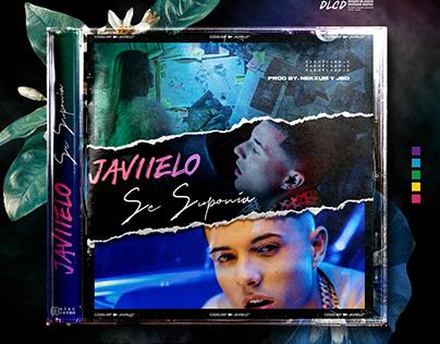 "JAVIIELO NEW SINGLE COVER ""SE SUPONIA"""