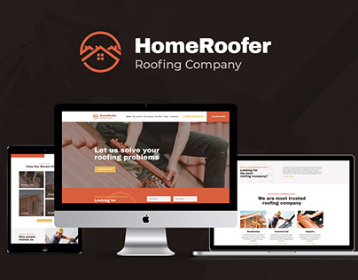 Roofing Company Services & Construction WP Theme