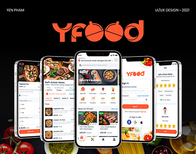 YFOOD - Mobile Food Delivery App
