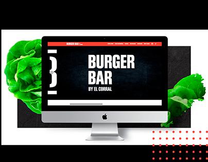 Burger Bar - Website