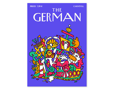 THE GERMAN (Coverdesign)