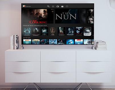 Adobe XD Daily Challenge - Movie Rental Website