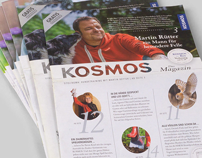 Kundenmagazin Kosmos