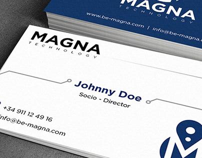 Tarjetas de Visita - Magna Technology