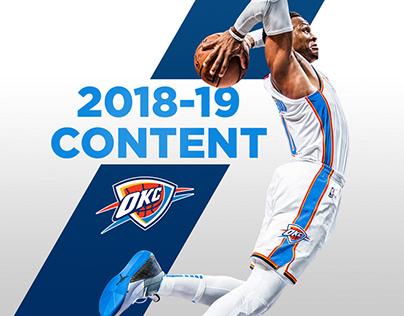 2018-19 Oklahoma City Thunder Content
