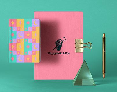 Planneart Visual Identity