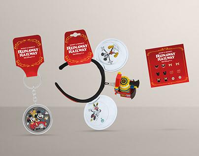 Mickey & Minnie's Runaway Railway Packaging