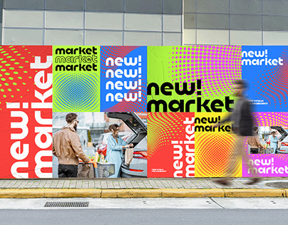 newmarket - logo / identity / branding