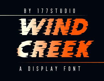 Free Font - Wind Creek