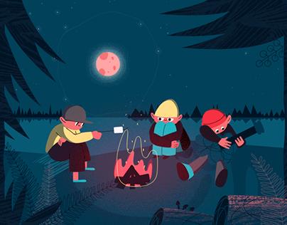 Summer Camp Animation