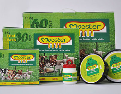 Branding & Packaging #Cattle feed