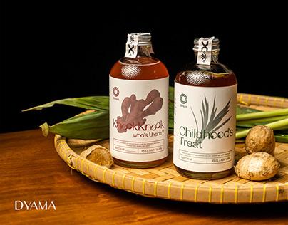 DYAMA: Handcrafted Bottled Cocktail
