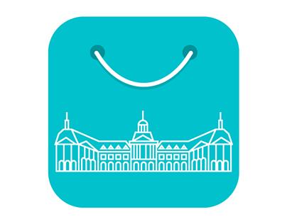 Bordeaux Shopping iOS  App Icon