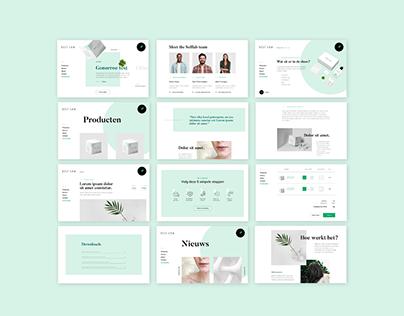 Selflab Website and Webshop Design