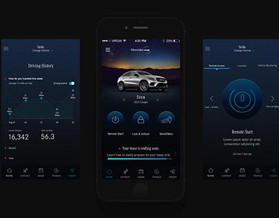 Mercedes Me App + Platform