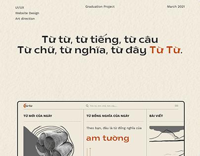 Từ Từ   Website về tiếng Việt cho người trẻ