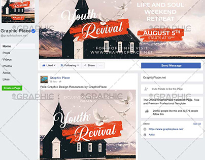 Youth Revival - Animated Flyer PSD Template