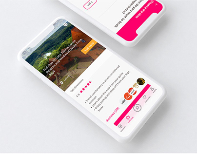 UI / UX Travelling IOS app