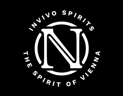 Invivo Spirits Branding