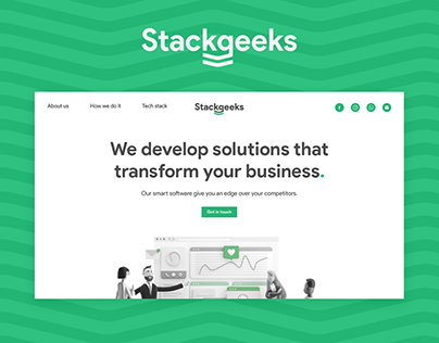 Stackgeeks Web Design