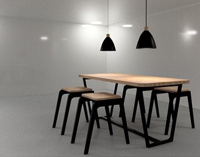 Diseño de mobiliario / Furniture design.