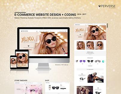 E-commerce Website Design + Coding (COPY)