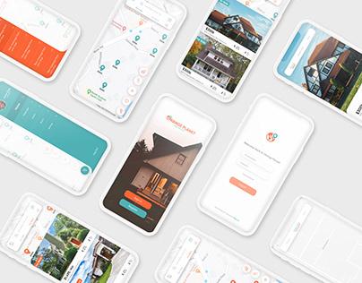 Orange Planet Real Estate App