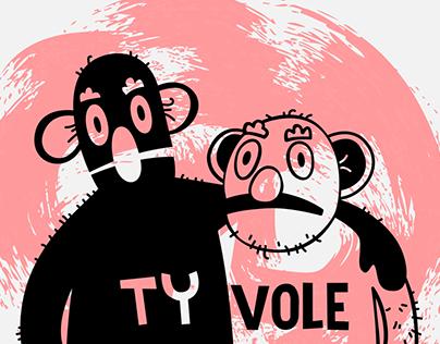 T-shirt Ty Vole