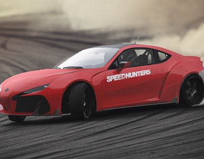 Bodykit for gt86/brz in FT-1 concept style