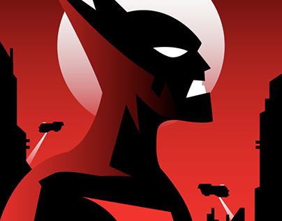BATMAN BEYOND Poster Art