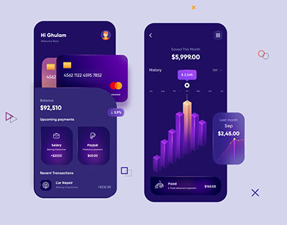 Finance Mobile APP Design