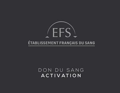 DON DU SANG // ACTIVATION
