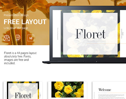 FLORET - FREE BUSINESS PROPOSAL TEMPLATE