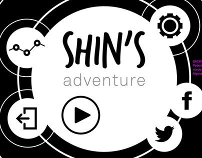 Shin's adventure / diseño UI/UX