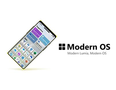 ModernOS for Lumia X