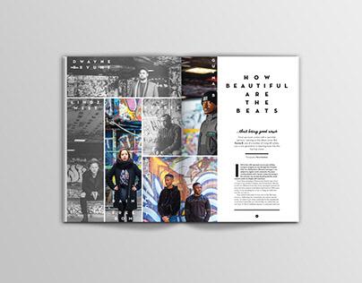 Editorial design selection