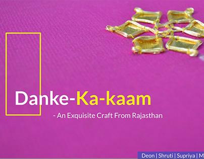Sustaining Udaipur's Danka Craft