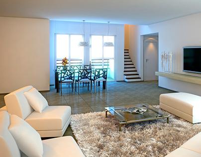 Визуализация частных апартаментов Модин